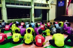 Iftar with Boys at MWH